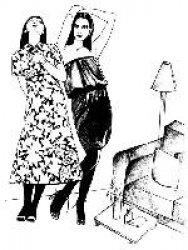 Due donne e un appartamento - Locandina
